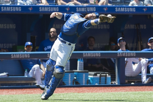 Russell Martin's place in Blue Jays history