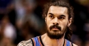 Thunder's Steven Adams is widely viewed as the strongest player in the NBA