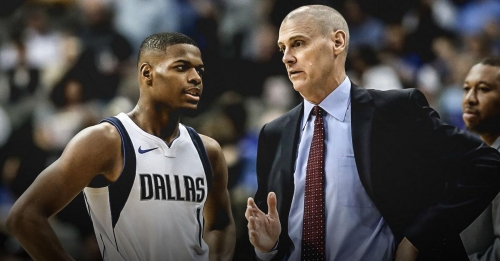 Report: Mavs' Rick Carlisle would welcome continuing to coach Dennis Smith Jr.
