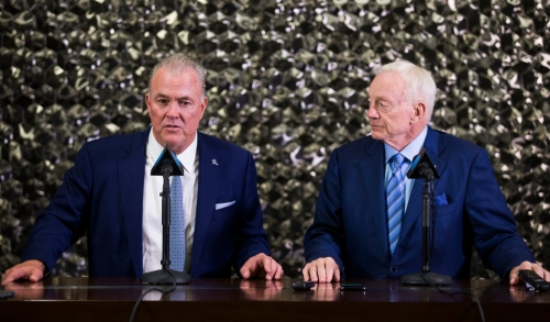 Cowboys VP Stephen Jones: 'Laughable' to think Jerry Jones cares more about money than winning another Super Bowl