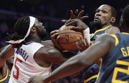 Clippers and Warriors, headed in opposite directions, set for showdown Friday