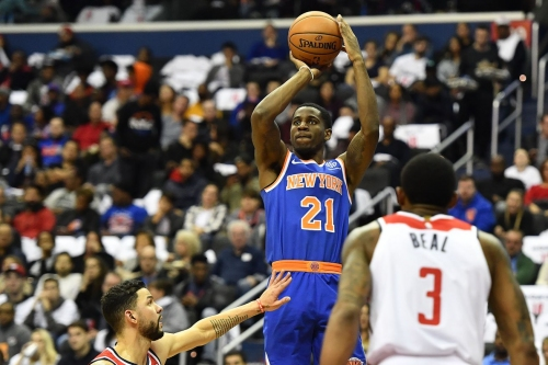 Wizards 101, Knicks 100: Scenes from some elite tanking in London, mate