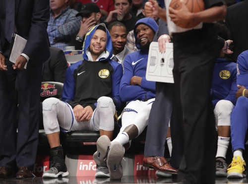 NBA All-Star Game: Durant, Curry slipping in latest vote