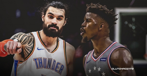 Jimmy Butler thought his 'life was over' after getting hit by a Thunder's Steven Adams screen last season