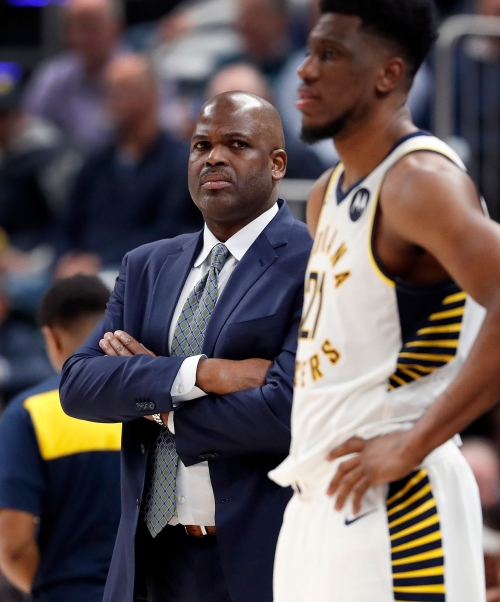 Pacers coach Nate McMillan on Victor Oladipo: 'He's learning that it gets even harder.'