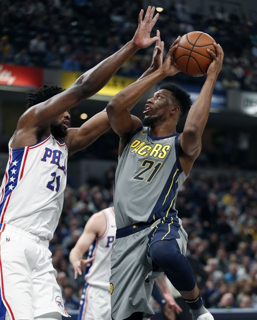 Sixers cement place above Pacers in East with dominating performance