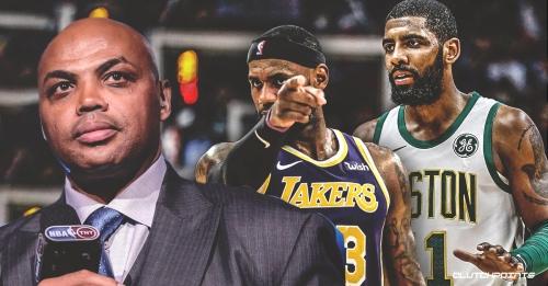 Charles Barkley isn't buying Celtics PG Kyrie Irving's apology to LeBron James