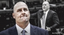Video: Bulls HC Jim Boylen gets knocked down to the floor by Nuggets' Torrey Craig