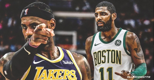Lakers star LeBron James was very appreciative that Celtics' Kyrie Irving called and apologized