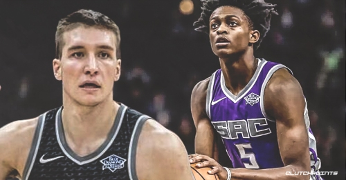 Kings' Bogdan Bogdanovic thinks that De'Aaron Fox's improved play is a result of not getting selected for Rising Stars Challenge