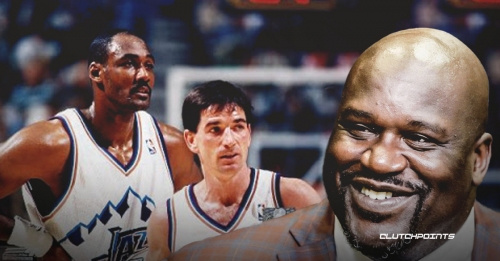 Shaquille O'Neal pays respect to Jazz team that swept Lakers in 1998 NBA Playoffs