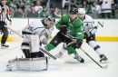Stars Score Late, Fall 2-1 To Kings
