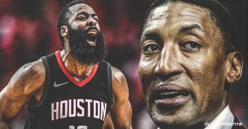 Scottie Pippen explains how he'll defend Rockets' James Harden