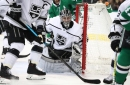 Kings edge Stars to climb out of NHL basement