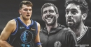 Mavericks rookie Luka Doncic marvels at image with Euro greats Dirk Nowitzki, Pau Gasol