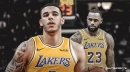 Lakers' LeBron James tweets at referees over late-game foul on Lonzo Ball