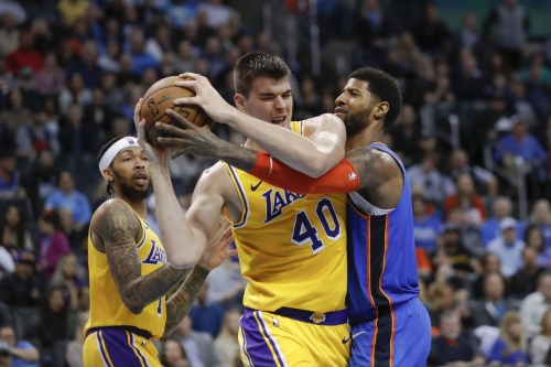 Recap: OKC's defense fails again big time in bad OT home loss to Lakers