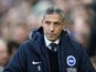 Brighton remain positive when playing at Premier League's elite, insists Hughton
