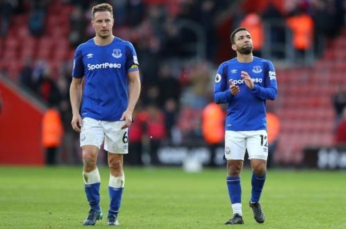 Everton FC's squad for Southampton clash revealed