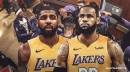 Rumor: Possibility of Kyrie Irving-LeBron James reunion with Lakers grows