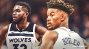 Jimmy Butler thinks Karl-Anthony Towns is too nice