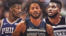 Timberwolves' Derrick Rose gives personal insight on tension between Karl-Anthony Towns, Jimmy Butler