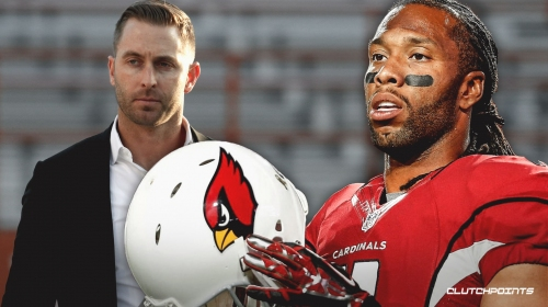 Cardinals WR Larry Fitzgerald says Kliff Kingsbury is a 'hell of a coach,' still unsure of return