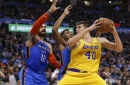 LeBron James Questions NBA Referees About Rule, Celebrates Ivica Zubac's Career Game & Lakers Win Over Thunder