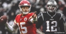 Chiefs QB Patrick Mahomes dismisses narrative that Tom Brady is ready to pass the torch to him