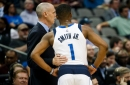 Dennis Smith Jr. not at Mavs' practice, as expected; Rick Carlisle's brief statement sheds little light on his status