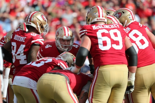Final stock report for 49ers 2018 roster