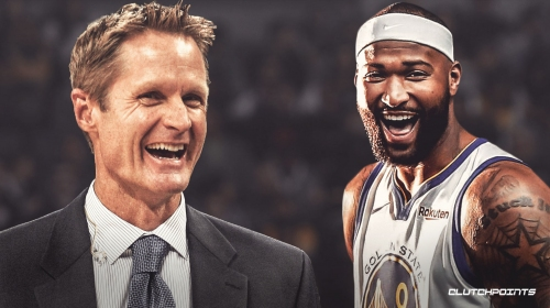 Warriors coach Steve Kerr on national reaction to DeMarcus Cousins' debut — 'We're going to be unbeatable or in big trouble'