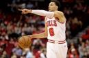 Looking at the Bulls shot selection through true shooting charts