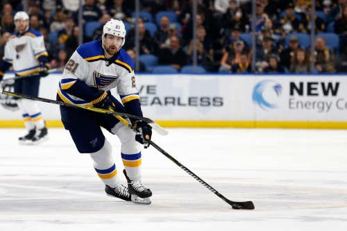 Leaving St. Louis led to Patrik Berglund losing passion for hockey
