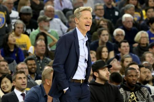"Warriors' Steve Kerr joked team is ""light years ahead"" since Durant-Green argument"