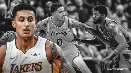 Lakers' Kyle Kuzma admits he watched his rookie highlights before career night vs. Thunder