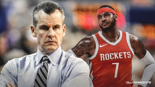 Thunder coach Billy Donovan thinks Carmelo Anthony can still contribute to an NBA team