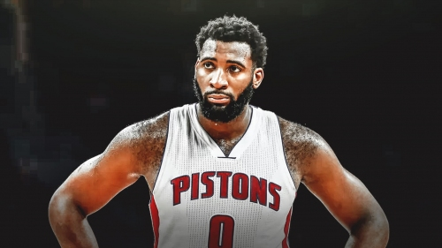 Pistons' Andre Drummond ruled out for rest of home game vs. Heat with nasal injury