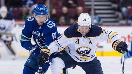 NHL Live Tracker: Canucks vs. Sabres
