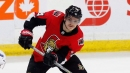 Senators' Borowiecki leaves Hurricanes game with lower-body injury