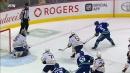 Pouliot dangles through Sabres, feeds Baertschi for easy goal