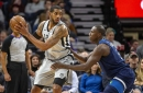 San Antonio @ Minnesota, Final Score: Spurs overcome Timberwolves 116-113