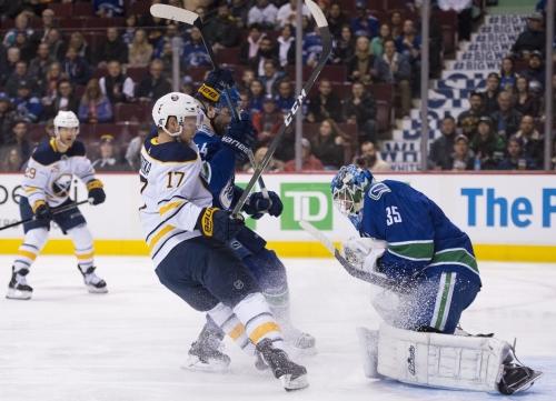 Canucks goalie Demko backstops team to victory over Sabres