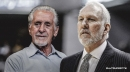 Spurs' Gregg Popovich ties Pat Riley for No.1 in all-time road wins list