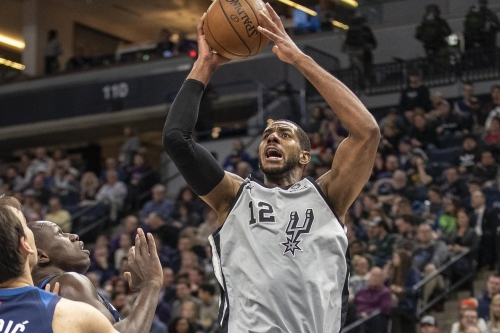 Spurs take gritty road victory over Timberwolves
