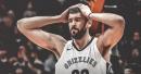 Grizzlies center Marc Gasol questionable for Saturday night's game vs. Raptors
