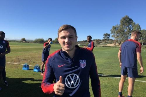Jordan Morris still in national team picture