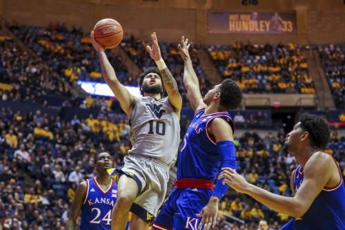 Jermaine Haley's Last Second Basket Stuns No. 7 Kansas in Morgantown