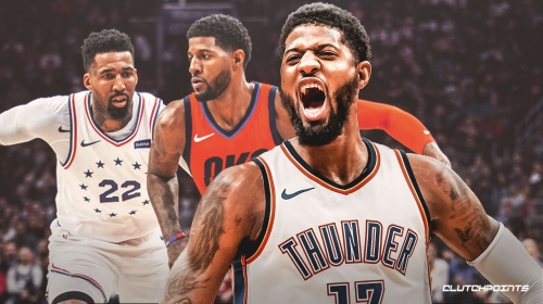 Thunder video: Paul George hits game-winning 3-pointer vs. Sixers