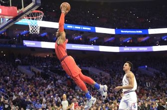 George lifts Thunder past 76ers 117-115
